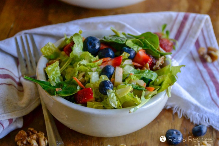 paleo Copy-Cat Chick-fil-A Market Fresh Salad 4