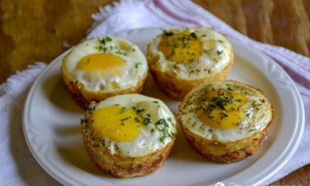 Easy, Gluten-Free Egg & Potato Breakfast Muffins