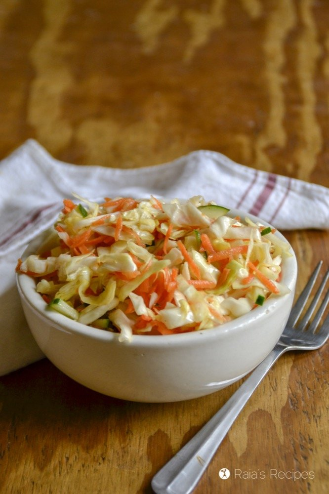 Quick & Simple Coleslaw profile side