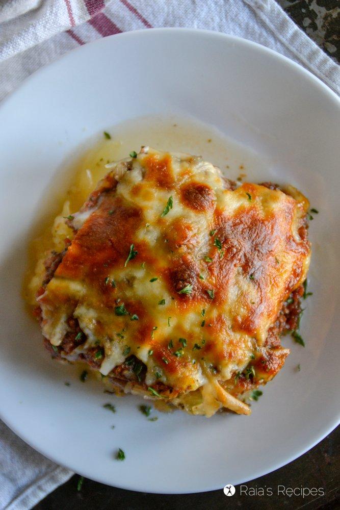 Spaghetti Squash Pizza Casserole 3