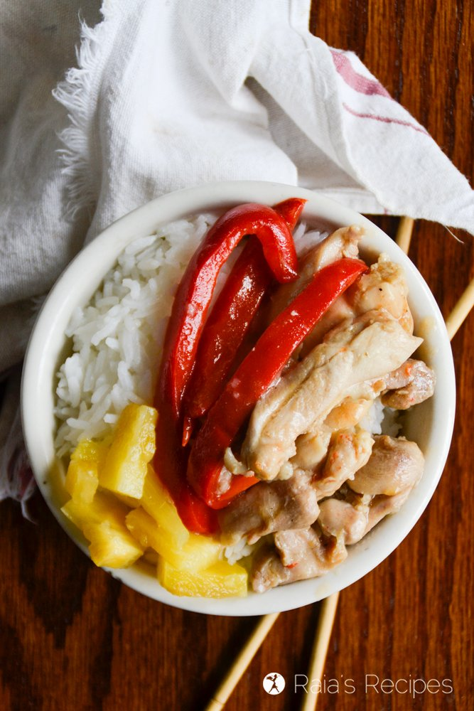 Paleo Sweet & Sour Chicken 3