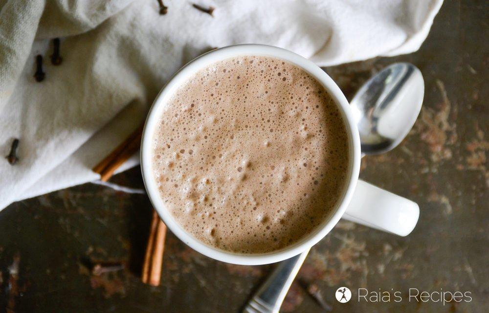 Gingerbread Spiced Mocha Latte