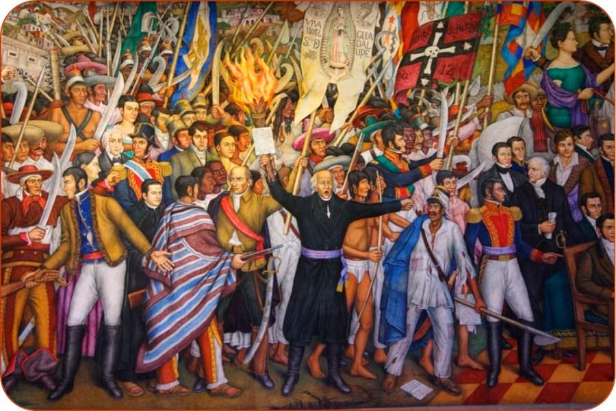 Retablo de la Independencia. Juan O'Gorman.