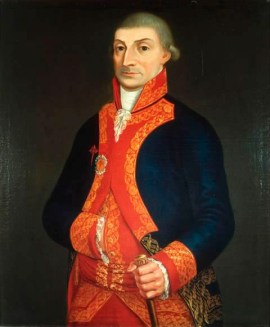 Virrey José de Iturrigaray Aréstegui (1742-1815).