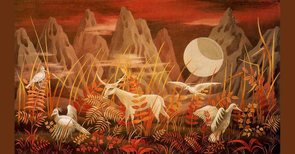 Valle de la luna, Remedios Varo, 1950.