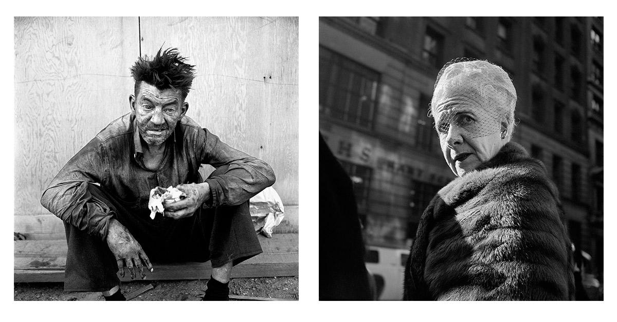 Izquierda: 24 de septiembre, 1959, NY. Derecha: 26 de enero, 1955, NY.