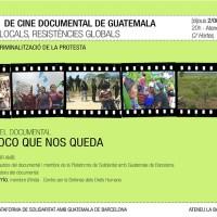 IV Ciclo de cine documental de Guatemala: Y lo poco que nos queda