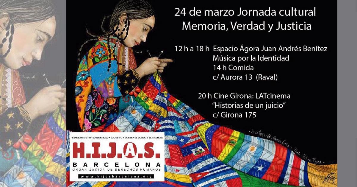 Jornada Cultural: Memoria, Verdad y Justicia #24M