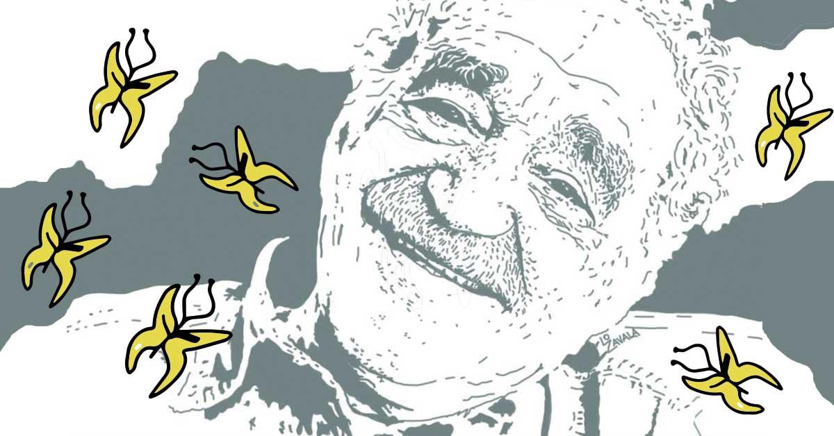 Gabriel García Márquez. Ilustración: Lola Zavala