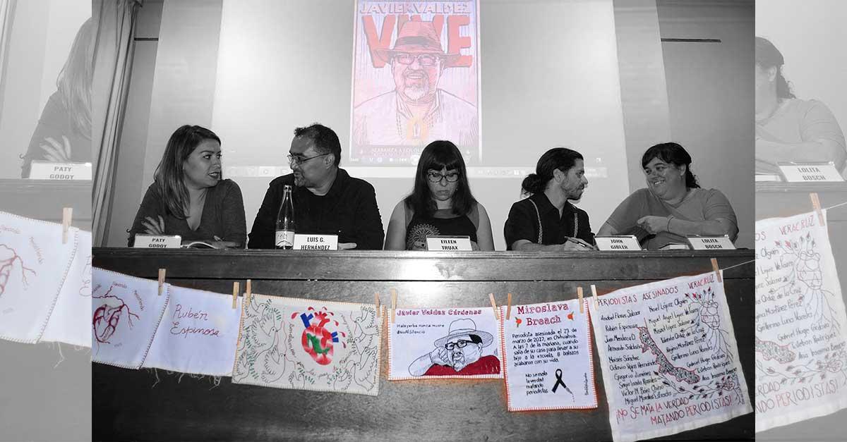 Emotivo homenaje a Javier Valdez en Altaïr Librería