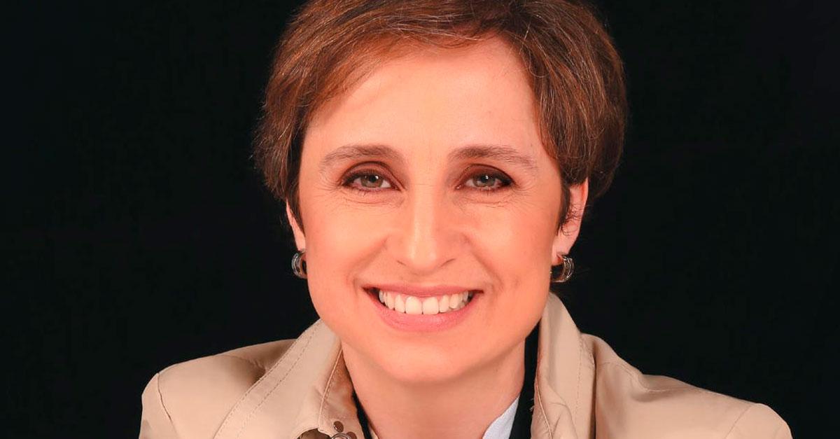 Entrega de premio Casa Amèrica Catalunya a la libertad de expresión a Carmen Aristegui
