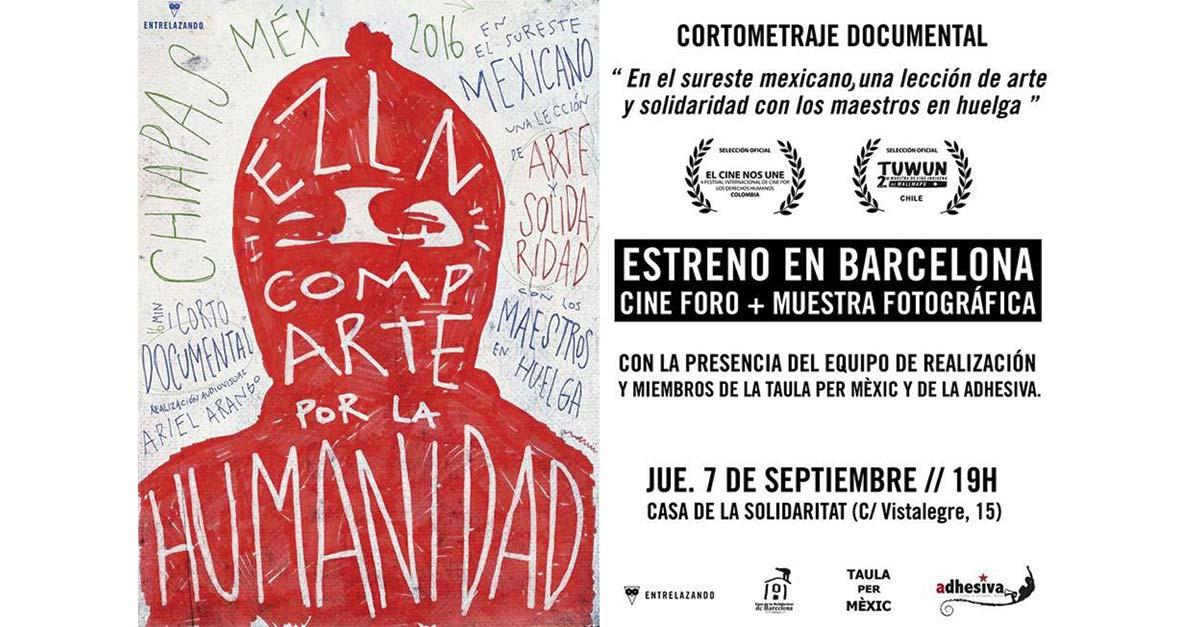 Corto: EZLN CompArte por la humanidad