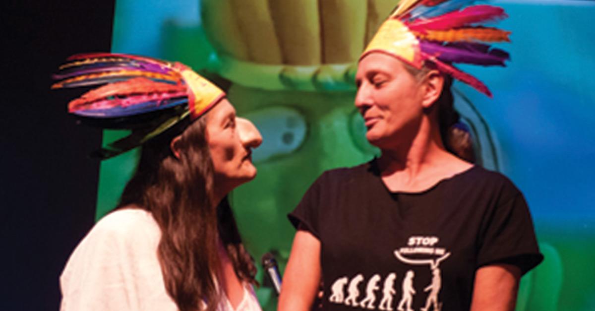 Semana del humor: 'Humor sin barreras', por Jesusa Rodríguez y Liliana Felipe