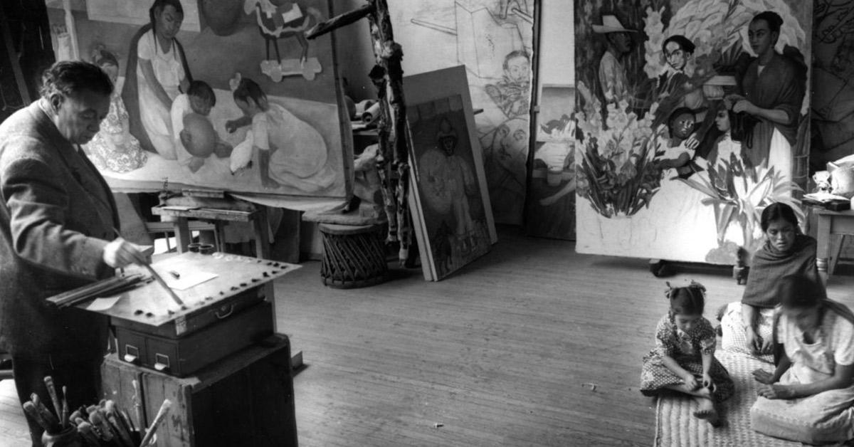 Primera entrevista a Diego Rivera – Raíces al aire