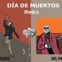 Día de muertos. Ofrenda a Francisco Toledo y a Fernando del Paso