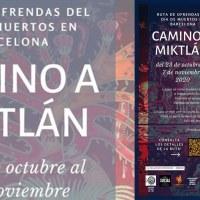 Camino al Miktlán: Ruta de ofrendas de Día de Muertos en Barcelona