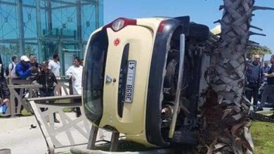 صورة حادثة سير أدت الى قتيل وإصابات بمدينة بطنجة