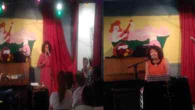 صورة النجمتان ريثا الألزاسية و نوفيسة المغربية سطعتا من سماء ستراسبورغ في تمازج فني أدبي
