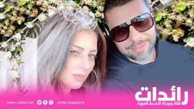 صورة مسلم وأمل صقر يصرحان بزواجهما … الف مبروك