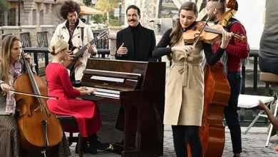 """صورة عبد الله رويشد يصوّر أحدث أغنياته """"سولف علي"""" مع المخرج بسام الترك"""