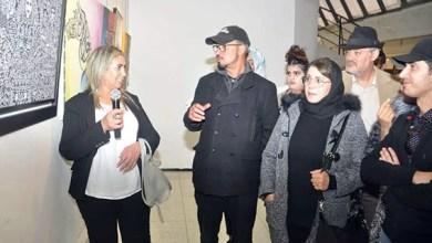 صورة 40 فنانا تشكيليا يحولون مركب محمد حجي في سلا إلى لوحة فنية
