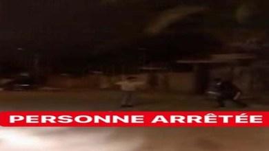 صورة توقيف شخص ظهر في فيديو اعتداء بالسلاح الابيض بطنجة