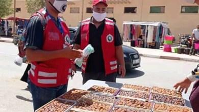 صورة الجمعية الوطنية للإغاثة والإنقاذ – فرع ميسور تشارك في حملة التوعية ضد كورونا