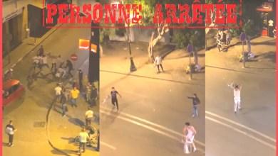 صورة ولاية أمن طنجة تتفاعل مع مقطع فيديو تم تداوله على شبكات التواصل الاجتماعي ، يوثق تبادل الضرب والعنف