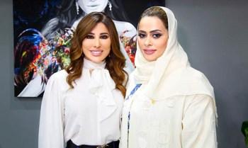 إطلالة جديدة لشمس الأغنية العربية نجوى كرم في دبي4