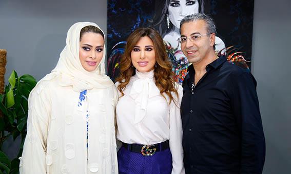 إطلالة جديدة لشمس الأغنية العربية نجوى كرم في دبي6