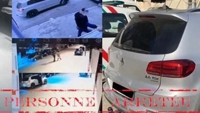صورة توقيف شخص من ذوي السوابق القضائية اقترف عملية سرقة بالعنف والفرار باستعمال سيارة رباعية الدفع بمدينة طنجة