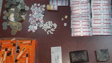 صورة توقيف شخص في حالة تلبس بترويج المخدرات القوية و مخدر الشيرا و لصاق السيليسيون