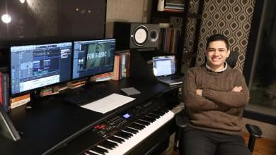 صورة خالد الكمار يضع الموسيقى التصويرية لمسلسل الاختيار 2