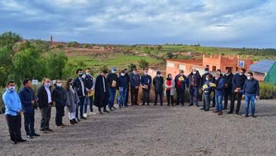 صورة توزيع أشجار مثمرة على مجموعة من الفلاحين بإقليم مراكش
