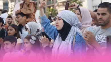 صورة وقفة تضامنية مع الشعب الفلسطيني ضد الكيان الصهيوني بطنجة