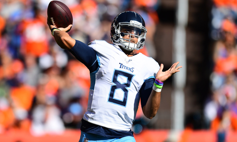 Raiders Qb Marcus Mariota Is Healthy And Ready To Contribute The Raider Ramble