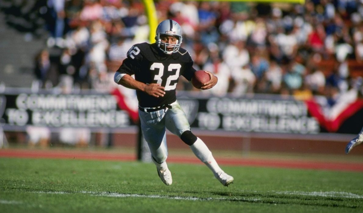 Marcus Allen named greatest offensive player in Raiders history