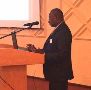Conférence de Famory Dembele Directeur de l'ENETP de Bamako