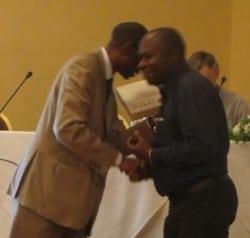 Mwanza KADIANDA de l'Université de Lubumbashi de la République Démocratique du Congo Prix Jeune chercheur #RAIFFET2014