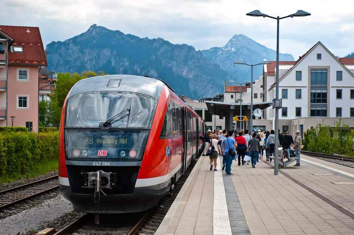 Image result for munich to fussen train