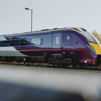 [UK] Aubergine skin: The first Class 180 EMR Intercity design