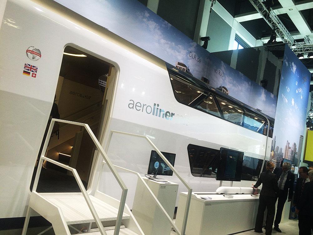 Aeroliner3000 – train concept by DLR and Andreas Vogler Studio