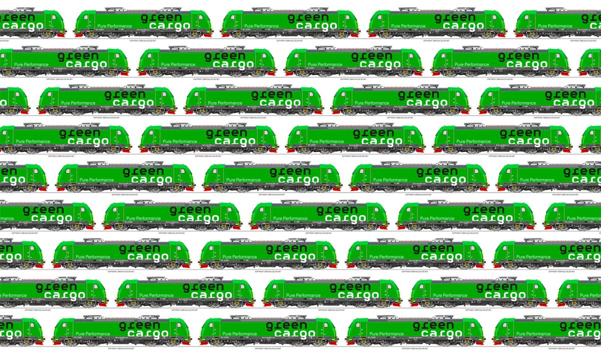 [SE / Expert] Green Cargo repaints and renumbers its TRAXX 'bridge' locomotives