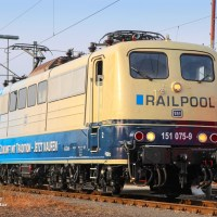 "[DE] In the picture: Railpool's 151 075 ""Martina"" at work [updated]"