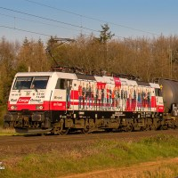 [DE] Werbelok alert: Rail Cargo Group rebrands a Siemens EuroSprinter as 'Wir sind ein Team'