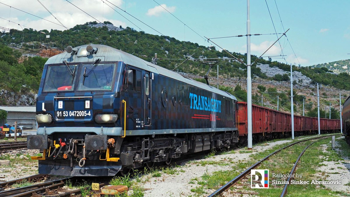[HR] Football on rails: British Class 92 midfielder now playing for Croatian Transagent Rail