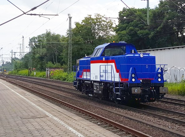 Alstom 1002 019 at Hamburg-Harburg on 28.07.2017 - Photo: David Pinto
