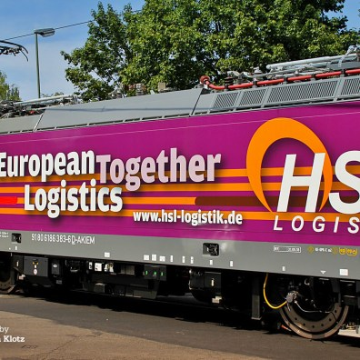 Akiem > HSL Logistik 186 383 in kassel on 01.08.2018 - Photo: Christian Klotz