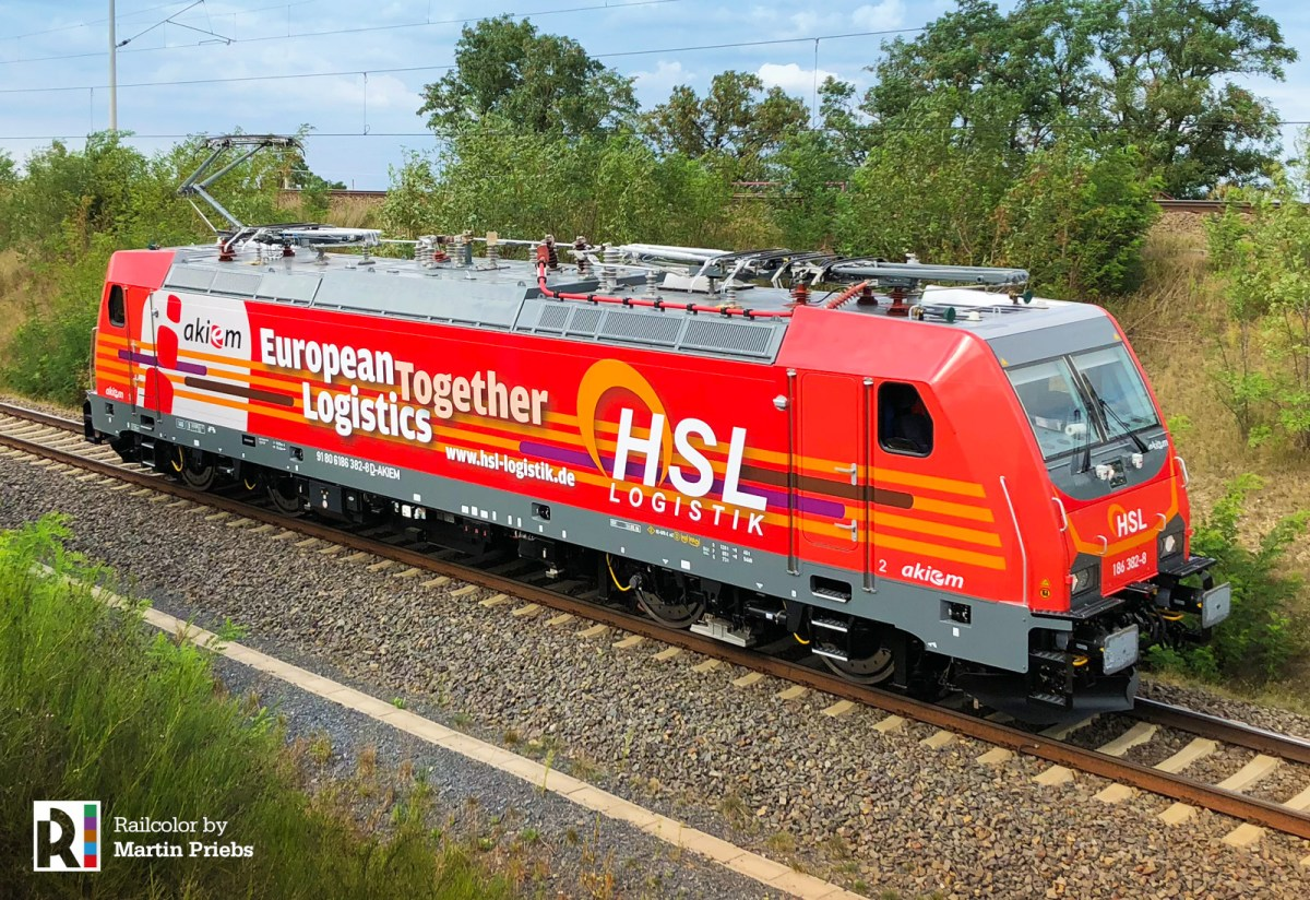 [EU] Akiem > HSL Logistik multisystem locomotives released from work [updatedx4]