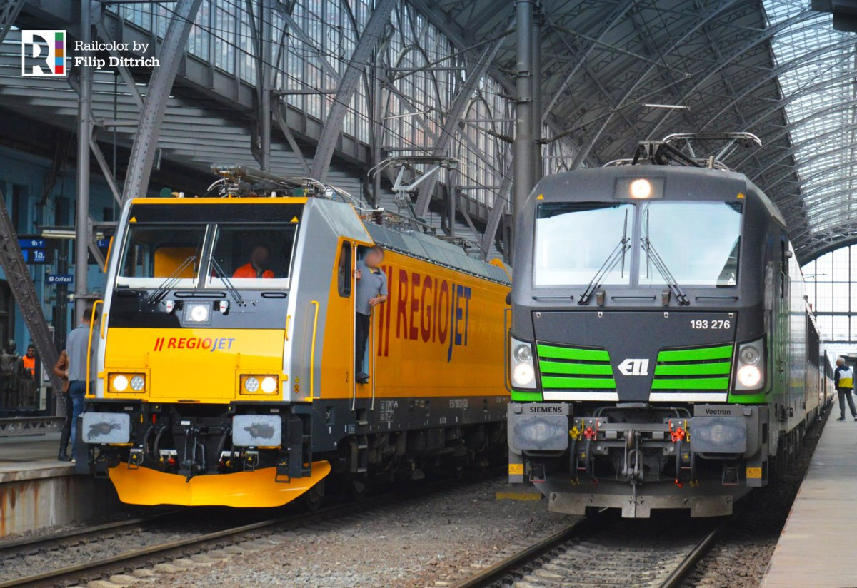 [CZ] RegioJet TRAXX locomotives enter service